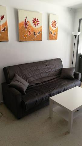 salon con sofa cama matrimomio