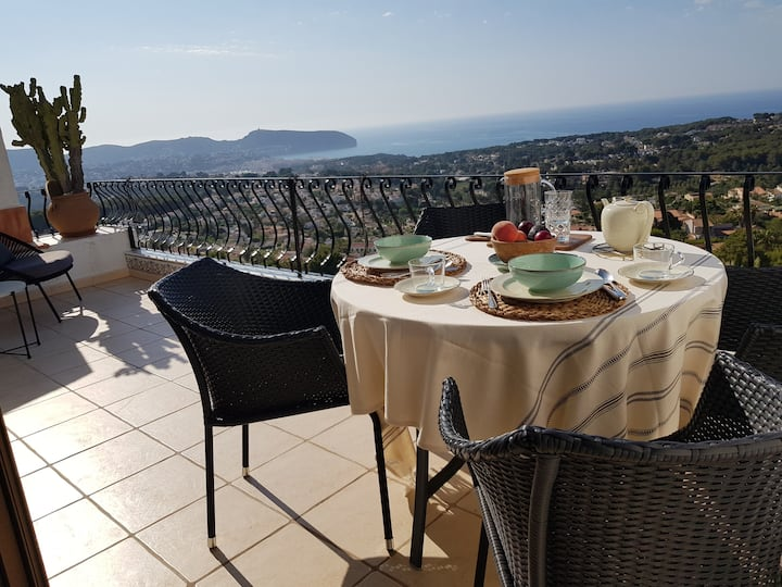Beautifull home in Moraira-Teulada, stunning view!