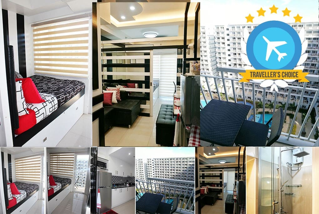 1BR/1T&B Modern Apartment with a view 1 QUEEN BED, 1 SOFA BED, 1 PULL-OUT BED
