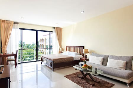 Cute Studio in Avanta with Pool, Gym and Jungle