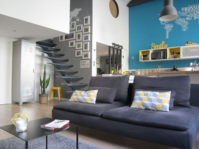 Loft design pour shooting photo & tournage