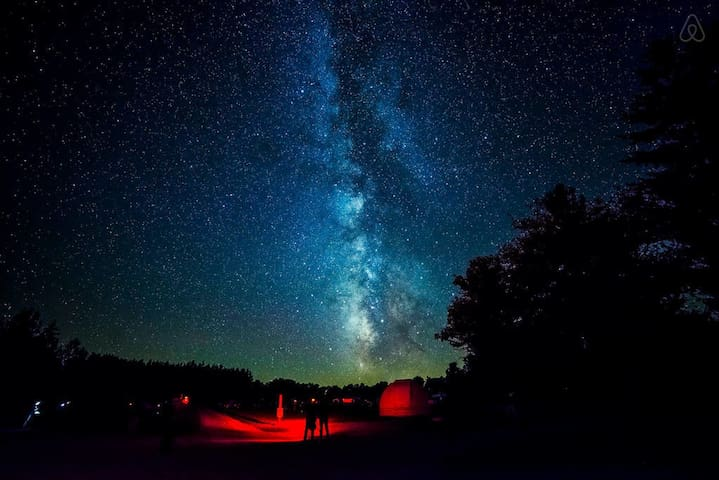 Blue Skies Lodge-Private StarGazing Field Near Cherry Springs Coudersport