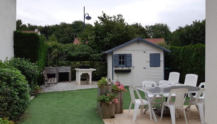 Maison 2 chambres 45m² avec jardin