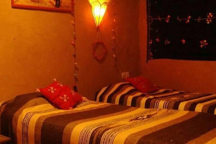 Chambre  talhaya  dans Maison d'hôtes
