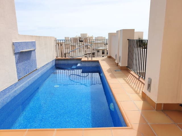 Amazing Penthouse with Private Pool in Estepona