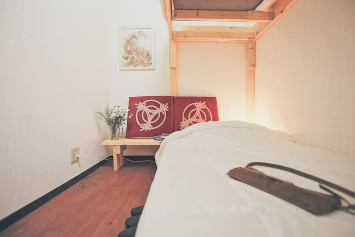 Near Nakano Shinbashi Station / bunk bed /2p