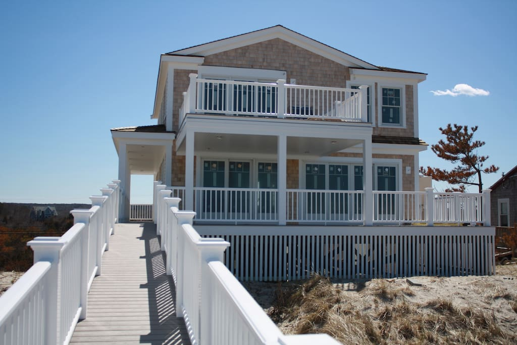 Back of House from the Beach