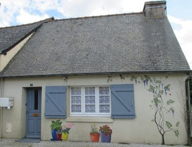 Peaceful Rural Brittany Cottage - Plussulien - Zomerhuis/Cottage