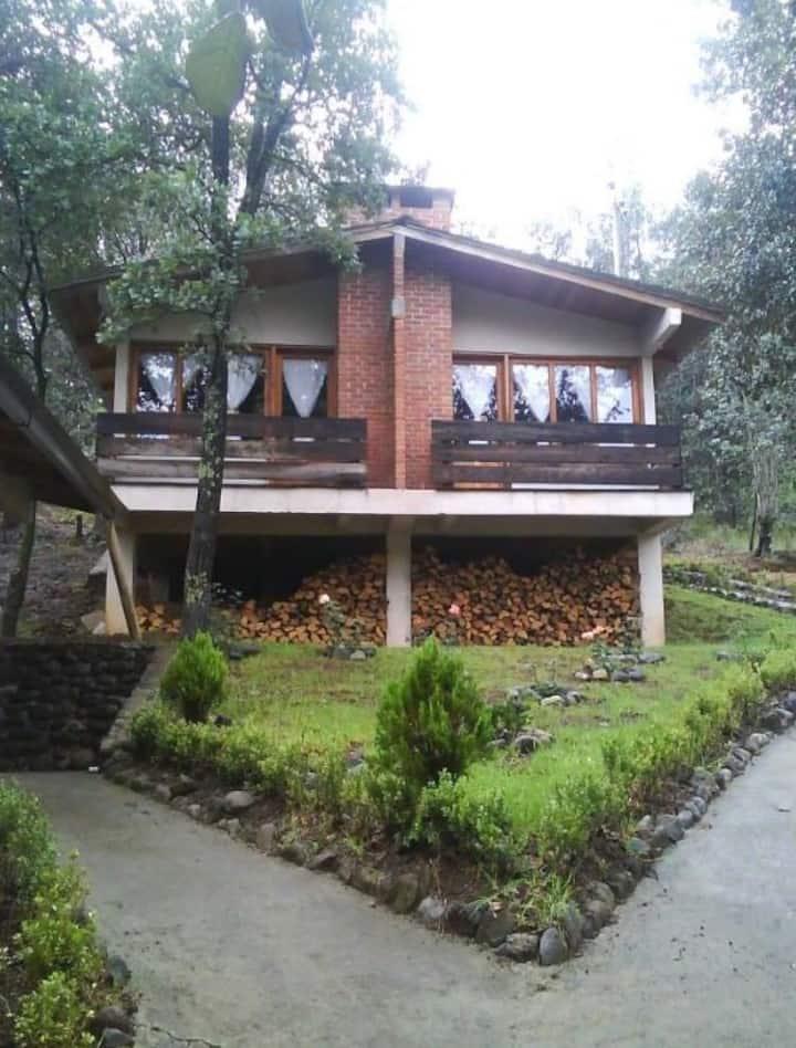 Cabaña Los Bosques- Habitación para 6  pers.
