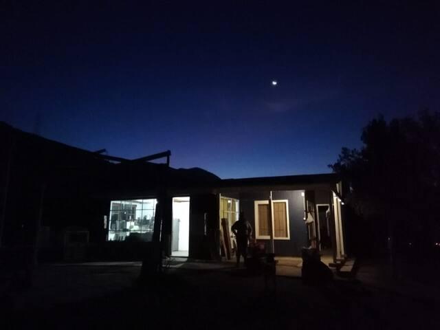 Desconexión en Rancho con tina de madera