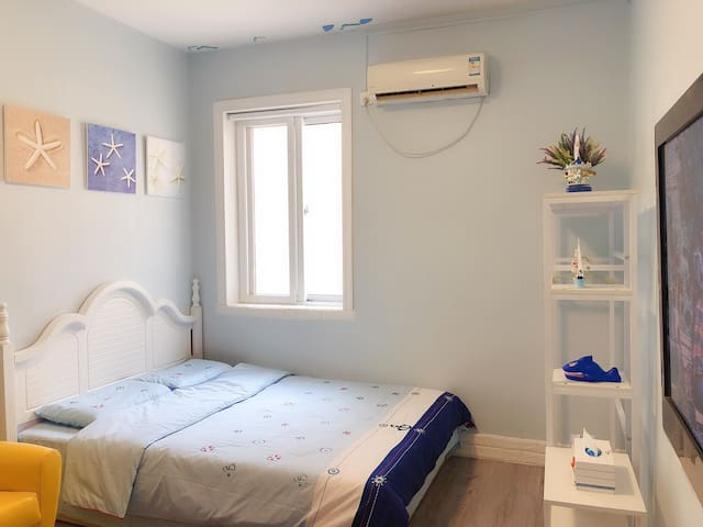 八月小筑—八大关景区中山公园一居室舒适温馨小屋