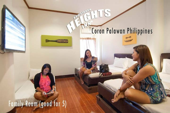 Budget-Friendly Accommodation in Coron, Palawan♥
