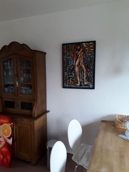 Blick in die gemütliche Wohnküche