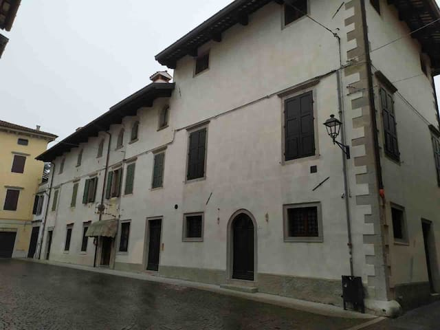 Appartamento in centro storico a Cividale