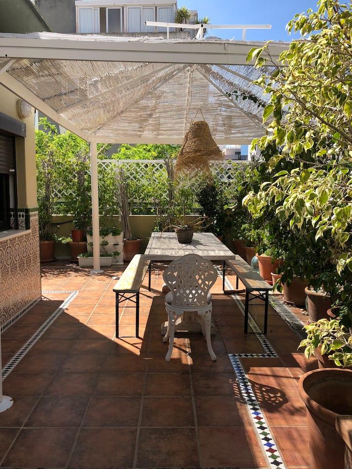 Ático único centro de Marbella