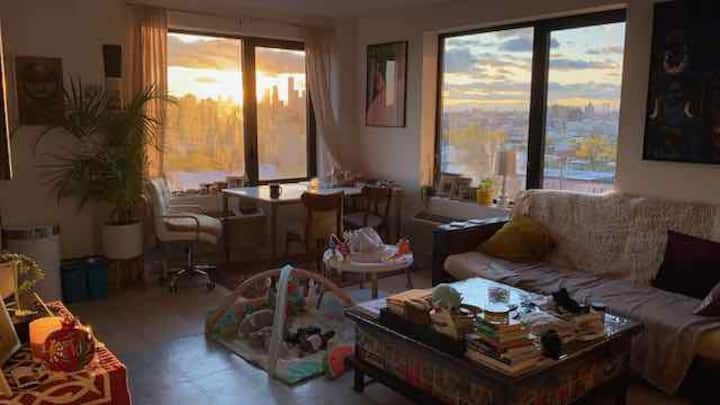 Spectacular views in Bed-Stuy 1 bedroom