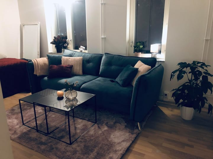 Central, cozy and modern!