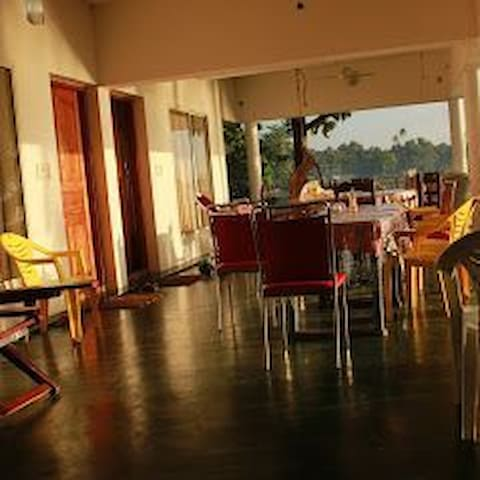 The Cochin Airport is only 70 km from our Homestay