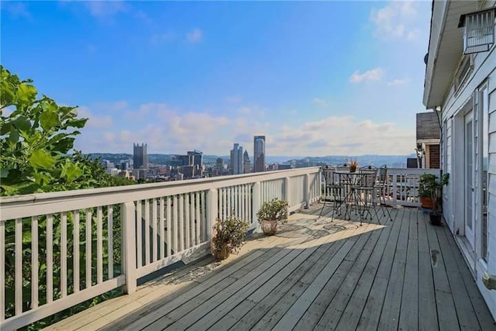 A Million Dollar View and Off Street Parking!
