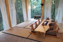 清云山房 独栋森林别墅 伯牙 离解放碑20分钟的森林民宿酒店