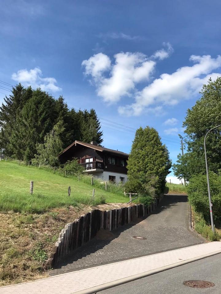 Jagdhaus in der Schneifel