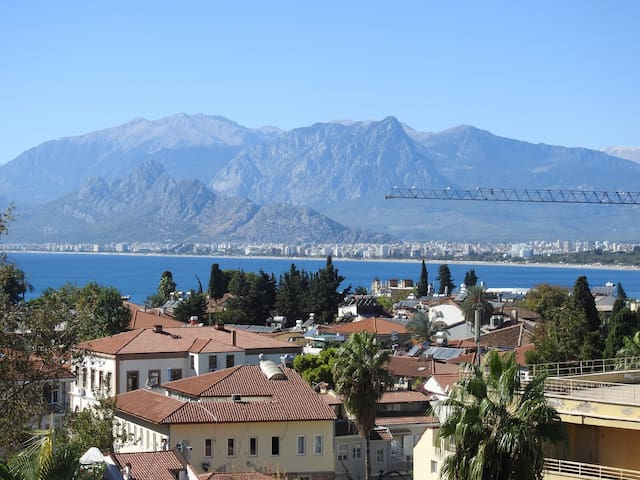 Antalya Center- Great views- Kaleici Dbl room B&B