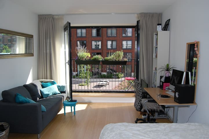 New studio at Amstel-river 10 min from cs - Ámsterdam - Loft