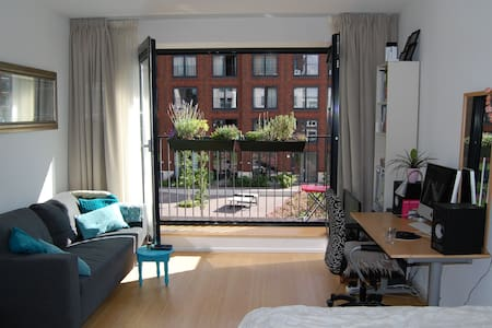 New studio at Amstel-river 10 min from cs - Amsterdam