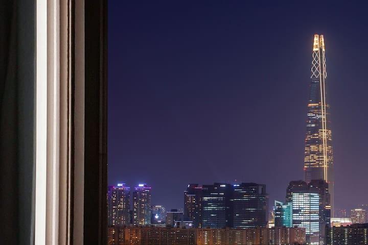 ♡쉼하우스♡3호선 대청역 연결☆20분 신사,잠실☆도보10분삼성병원
