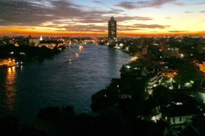 stunning view over chinatown