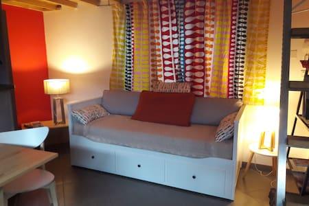 Studio cosy plein coeur du village