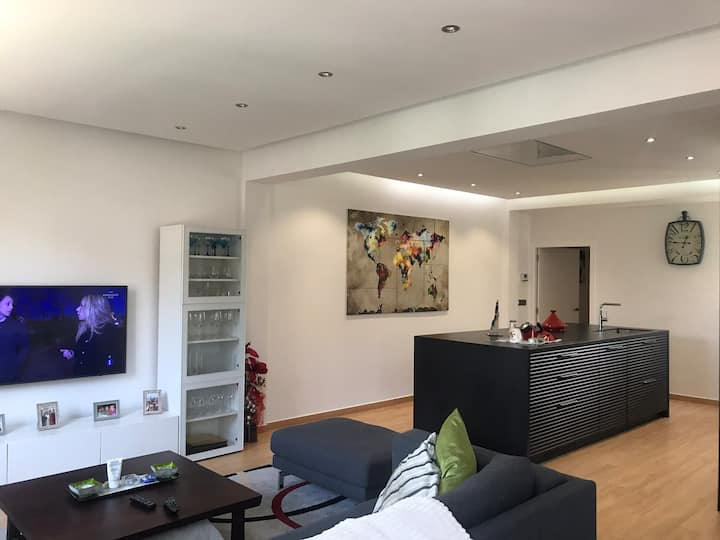 Modern and luxurious flat in the heart of the city