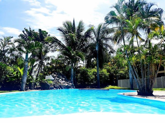 Joli T4 St Gilles dans Rés  arborée  belle piscine