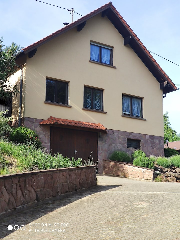 Birkenwald, maison avec 5 chambre et pergola