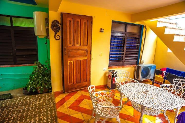 Varadero  Beach Cozy Mini- Apartment (3 guests)