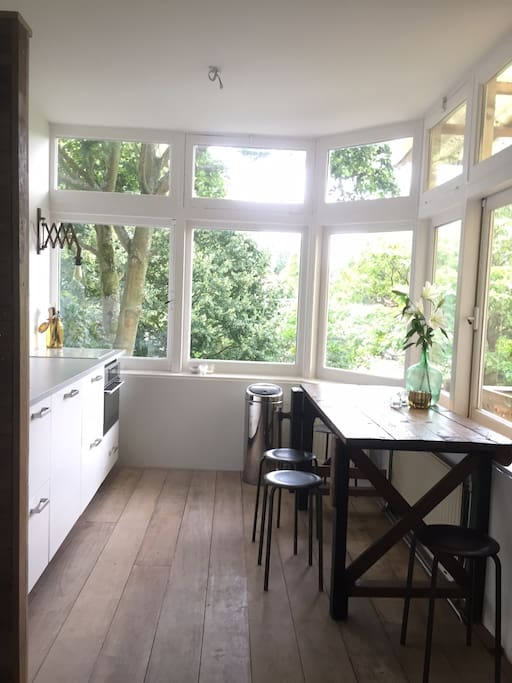 Kitchen in the trees...