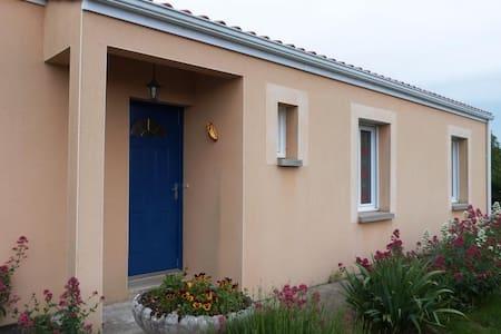 Maison proche du Marais Poitevin - Épannes - Dům