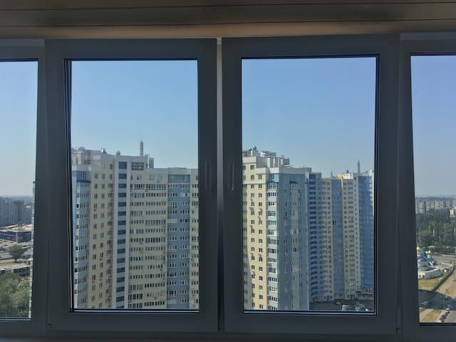 Новая квартира на 24 этаже