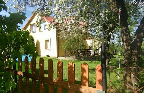 Agroturystyka Mazury - Elganowo Pokój pomarańczowy