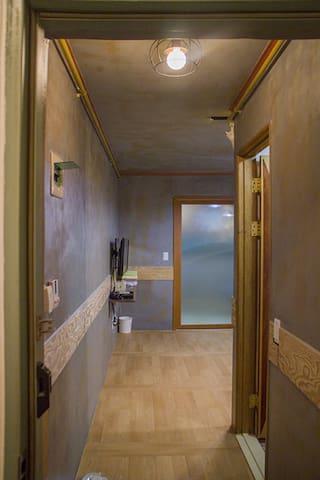 교통이 편리한 작은 공간(Furnished studio) - Seo-gu - Apartment