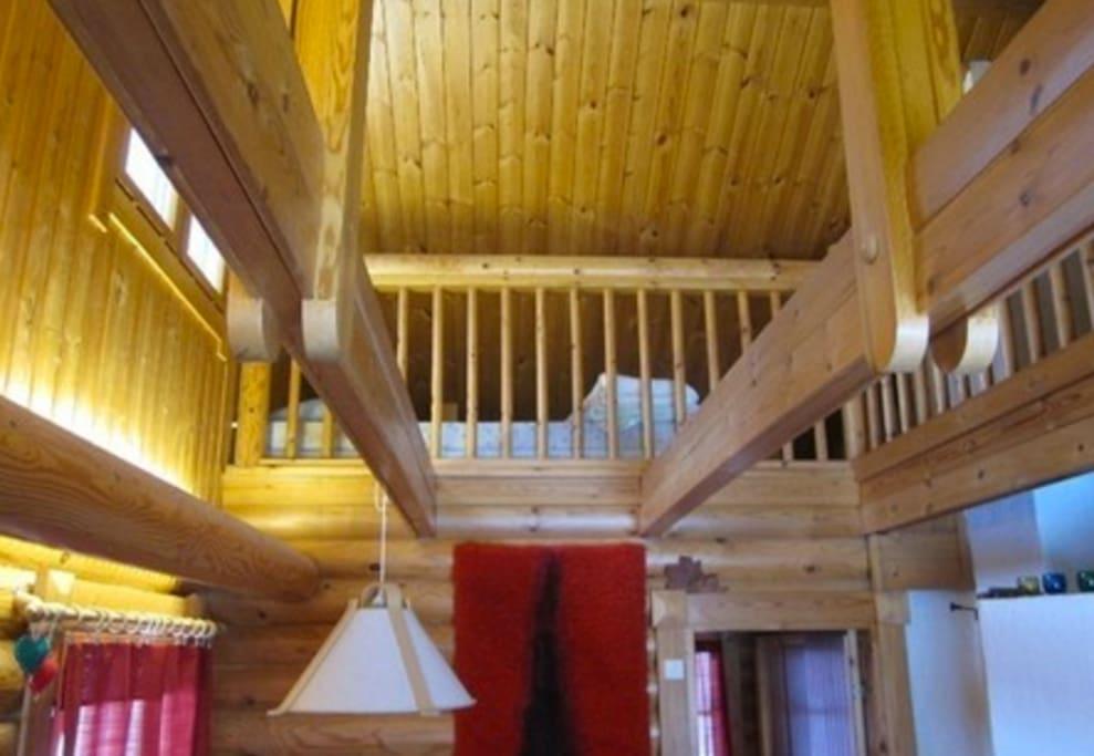 Upper level/ loft
