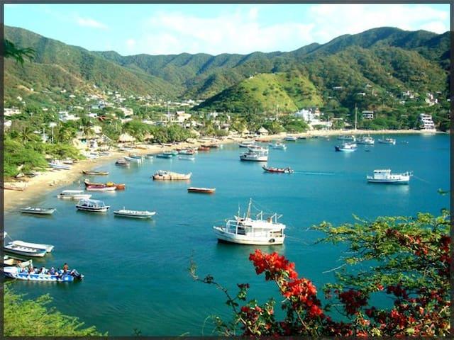 Cabañas Con vista al mar - Cottages with Sea view! - Taganga - Cabana