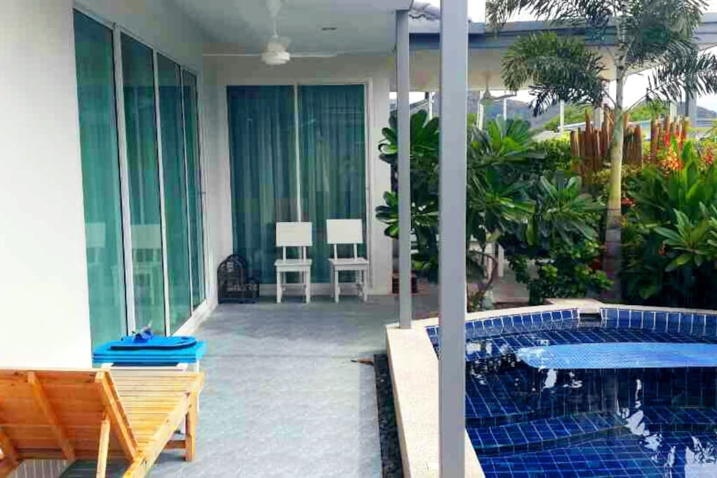mv 30 superbe villa 3 chambres avec piscine priv e maisons louer tambon nong kae chang. Black Bedroom Furniture Sets. Home Design Ideas