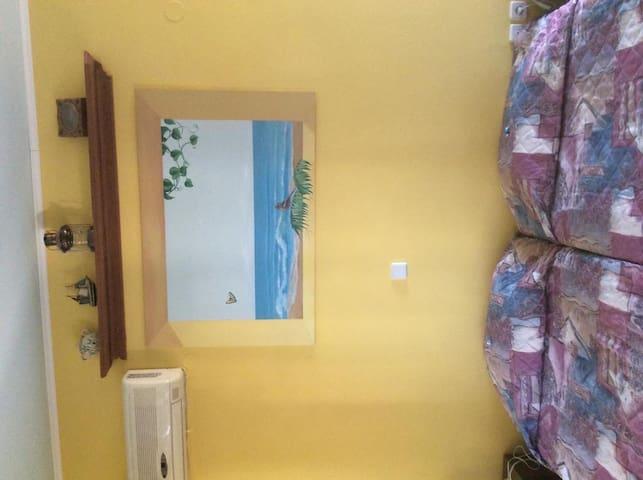 Δίκλινο δωμάτιο με θέα τη θαλασσα - Χαράκι - Appartement