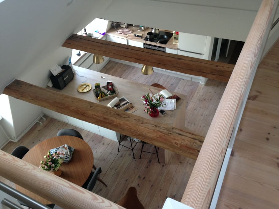 View from 2nd floor