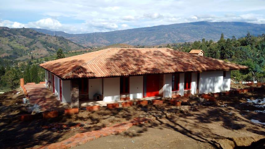 """Casa de Campo """"El Potrerito"""" en Raquira, Boyaca. - Candelaria - Dům"""
