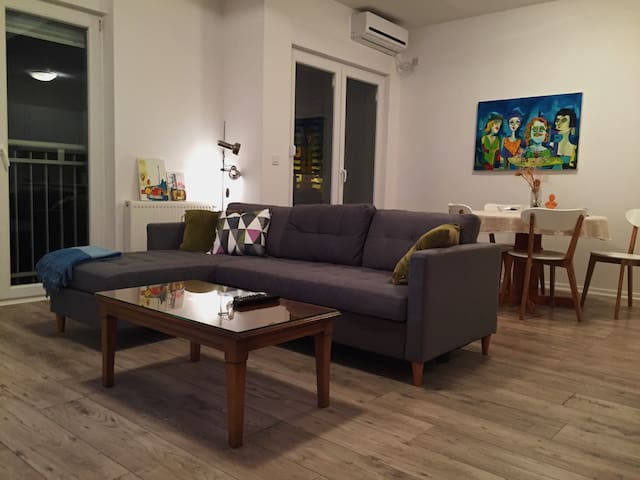 Modern, sunny Downtown apartment - Prishtina