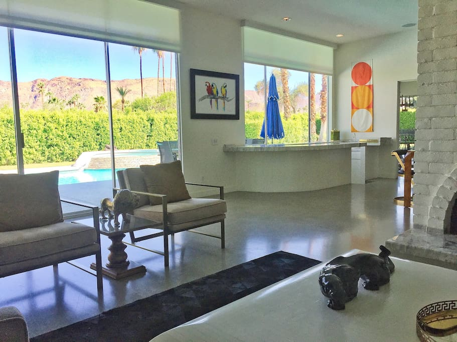This is it! Enjoy the Stunning Mountain View while experiencing True Palm Springs Vibe