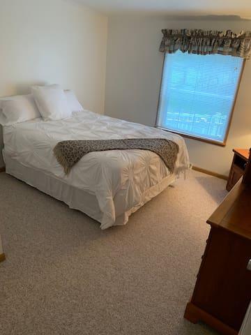 2nd Bedroom is a spacious Queen Bedroom