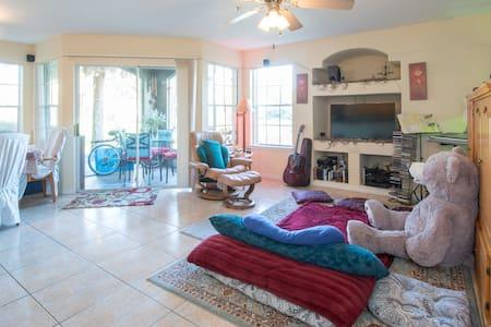The lake view peace paradise place - Orlando - Apartamento
